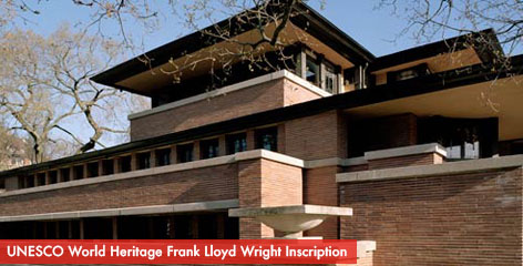 Robie House - UNESCO World Heritage Frank Lloyd Wright Inscription